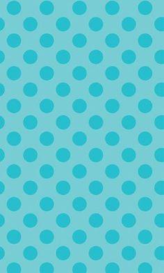 Blue Polka Dots Photo Backdrop *NEW
