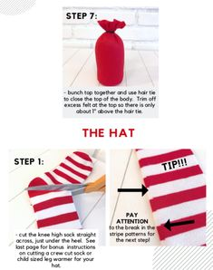 Diy home supplies 305330049736141429 - DIY Gnome Pattern & Photo Tutorial Source by Christmas Gnome, Christmas Crafts, Christmas Decorations, Xmas, Christmas Things, Christmas Holiday, Christmas Ideas, Christmas Ornaments, Diy Crafts Yard