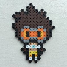 Tracer - Overwatch perler beads by stump_chump
