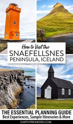 Snaefellsnes Peninsula, Iceland travel guide. Best things to do on the Snaefellsnes Peninsula, including Kirkjufell and Gatklettur, with hotel recommendations and itinerary ideas. #iceland #snaefellsnespeninsula #snaefellsnes #kirkjufell