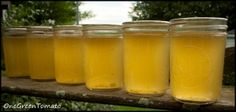 Recipe for Corn Cob Jelly. Apparently it's a sweet jelly reminiscent of honey.