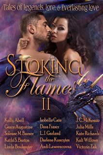 Book Reviewed: Stoking The Flames II   My Rating: 5 Stars   Author: Kelly D. Abell, Grace Augustine, Solease M Barner, Kathi S. Barton, ...