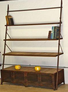 Librero, lo hacemos en cualquier medida INFO: madera-hierro@@hotmail.com
