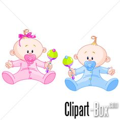 CLIPART BABIES WITH RATTLES