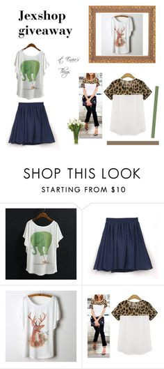 """Jexshop giveaway"" by enarasthings ❤ liked on Polyvore featuring NDI, women's clothing, women, female, woman, misses and juniors"