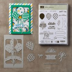 Birthday Pop-Up Balloons - Stamp A Latte - Leonie Schroder Independent Stampin' Up! Demonstrator Australia | Stamp A Latte - Leonie Schroder Independent Stampin' Up! Demonstrator Australia