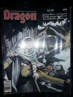 Dragon Magazine TSRWe have been only owners. Gary Gygax, Advanced Dungeons And Dragons, Hunt Games, Marvel, Magazine, Superhero, Ebay, Things To Sell, Magazines