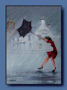 umbrellas.quenalbertini: Poosie Nansies by Hugh Rankin - Mauchline