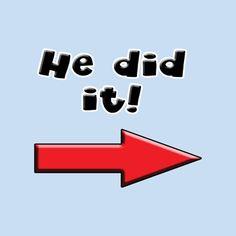 He did it! (bbb)