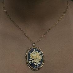 Garden Cameo Necklace