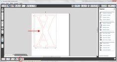 Silhouette sem Mistérios: PAP - Letra 2D com base para ficar em pé