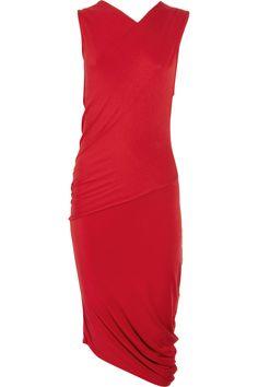 Draped Jersey Dress by Zero & Mariacornejo #Dress #Zero_and_Mariacornejo