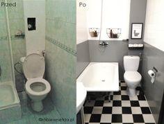 metamorfoza łazienki, malowanie kafelków, tiles painting ideas, bathroom remodel on a budget