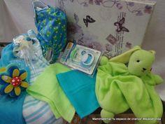 Cajas / Canastilla regalo de bienvenida al bebé