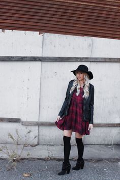 || Plaid dress || www.candice stubblefield.com | life + style