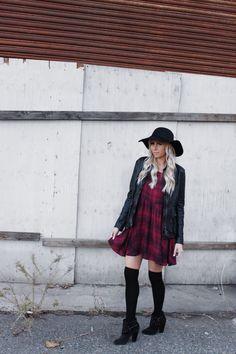 || Plaid dress || www.candice stubblefield.com | life + style