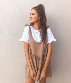 Outfits para chicas que detestan llevar poca ropa cuando hace calor Trendy Summer Outfits, Casual Summer Dresses, Casual Fall Outfits, Spring Outfits, Dress Casual, Autumn Outfits, Fall Dresses, Tumblr Summer Outfits, Easy Outfits