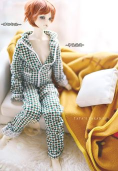 ==> [Free Shipping] Buy Best 1/4 1/3 scale BJD doll clothing pajamas for BJD accessory MSD SD SD17 SSDF.Not included dollshoeswig and other 17C3501 Online with LOWEST Price | 32820947071