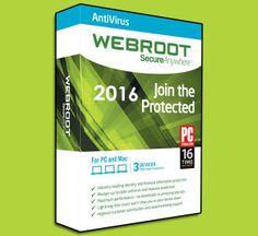 Windows Activator & Loader: Webroot SecureAnywhere Antivirus 2016 Crack