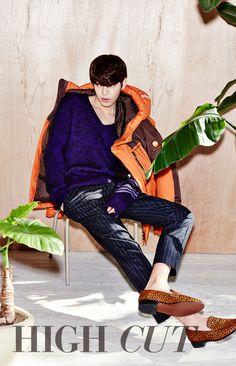 하이컷 - 패션, 뷰티, 대중문화 커뮤니티와 다채로운 이벤트 <HIGH CUT> 김 우 빈 - Kim Woo Bin
