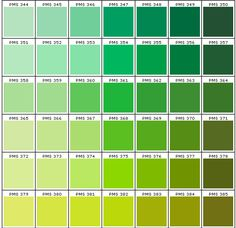 pms color chart How to Match Custom Logo Mat Colors by Rightway Pms Color Chart, Pantone Color Chart, Pms Colour, Color Combos, Color Schemes, Pantone Matching System, Pantone Greenery, Green Palette, Green Texture