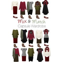 Capsule Wardrobe: Burgundy and Olive by mary-grace-see on Polyvore featuring Dolce&Gabbana, WearAll, Journee Collection, Kate Spade and MANGO MAN