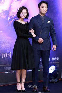 Kim Ji Won dan Jin Goo di Jumpa Pers Drama 'Descendants of the Sun'