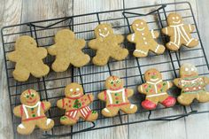 Gluten Free Gingerbread Men Cookies