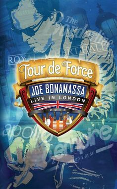 Joe Bonamassa Tour de Force Collectible Poster
