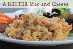 A better mac and cheese with sneaky sweet potato. Freeze before baking