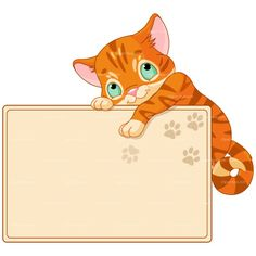 CLIPART CAT CELEBRATION CARD | Royalty free vector design