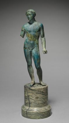 Athlete or Apollo, probably 100-1 BC Greece, Macedonia (?), probably 1st Century BC