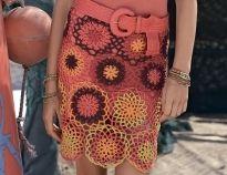 Схемы вязания юбок крючком на Verena.ru
