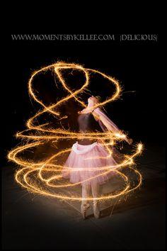 sparkler photography