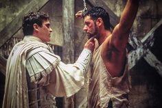 "Joaquin Phoenix & Russell Crowe in ""Gladiator"""