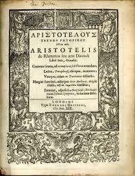 the basics of all modern rhetoric are found in Aristotle's Rhetoric.