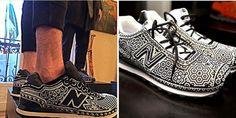 Крутые кроссовки из бисера от мексиканского дизайнера Ricardo Seco - Ярмарка Мастеров - ручная работа, handmade