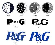 The evolution of the Procter Gamble logo Logos, Logo Branding, Procter And Gamble, Tide Detergent, Brand Icon, Moon Logo, Marketing Logo, Logo Design, Graphic Design