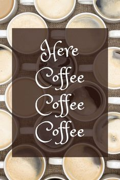 Here coffee, coffee, coffee.  #coffeequotes  MommyOfManyHats.com Coffee Is Life, Coffee Coffee, Coffee Love, Black Coffee, Best Coffee, Best Mom Quotes, Expensive Coffee, Coffee Reading, Best Beans