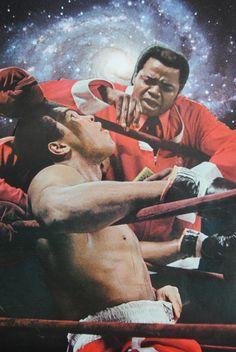 "Muhammad Ali and Drew ""Bundini"" Brown. Seeking second wind."