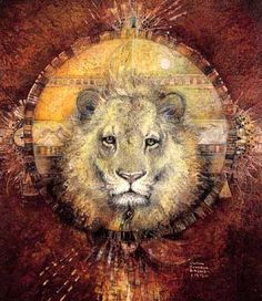 The Power of the Lion by Susan Seddon Boulet