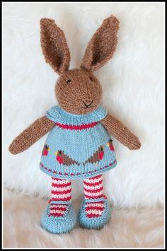 Amigurumi Knit Bunny