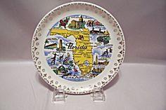 Florida Souvenir Collector Plate