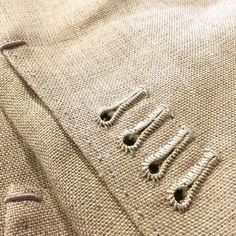 """101 Likes, 6 Comments - Kevin Seah (@kevinseahbespoke) on Instagram: """"Hand stitched buttonholes."""""""