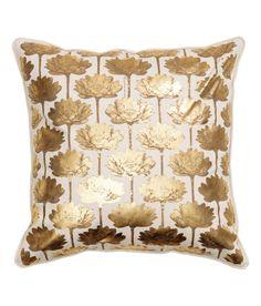 H&M Cotton Cushion Cover, $9.95
