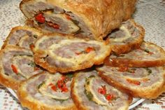 Cheese roll with minced meat / Culinary Universe Mince Dishes, Tasty Dishes, Russian Pastries, Queens Food, Tasty Meatballs, Cheese Rolling, Carne Picada, Best Meat, Salads