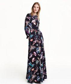 H&M Print Maxi Dress