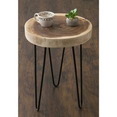 Shop Carbon Loft Julia Brown Teakwood Round Accent Table - On Sale - Overstock - 20254266 Furniture Deals, Furniture For You, Wood Furniture, Living Room Furniture, Furniture Outlet, Online Furniture, Living Rooms, Round Accent Table, Sofa End Tables