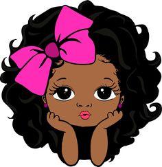 Black Love Art, Black Girl Art, Black Girl Magic, Image Svg, Afrique Art, Black Girl Cartoon, Black Art Pictures, Digital Art Girl, African American Art