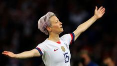 Women's football, cricket and netball are more popular than ever, and provide us with role models that break stereotypes of what women can do or should look like Usa Goals, George Galloway, Waiting In The Wings, Megan Rapinoe, Fifa Women's World Cup, Free Kick, The Spectator, Play Soccer, Sport Man